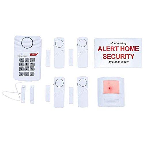 Mitaki-Japan ELALERT6 6Pc Home Security System