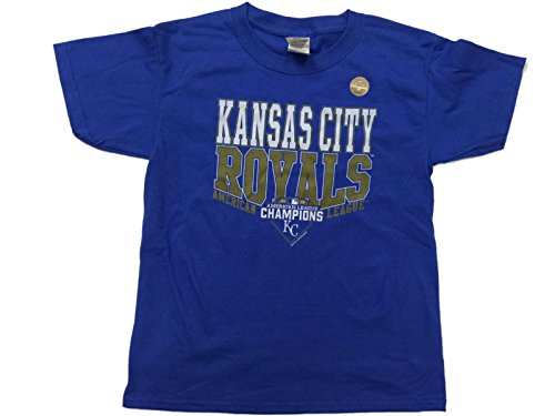 League Champions T-shirt (Kansas City Royals SAAG YOUTH 2015 American League Champions T-Shirt (XS))