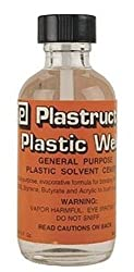 Plastruct Plastic Weld w/applicator 2oz by Plastruct
