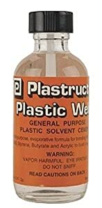 Plastruct Plastic Weld w/applicator 2oz