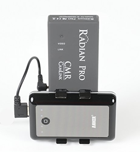 CamLink Wireless HD Receiver Monitor Mount with Battery. Sup