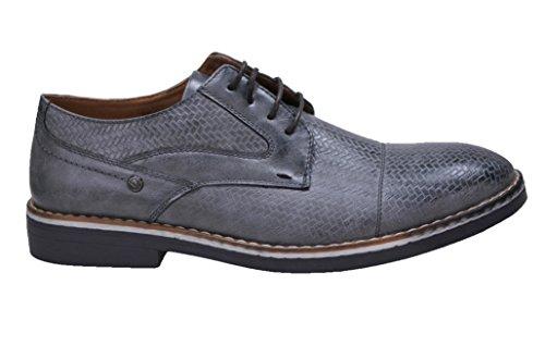 Scarpe uomo class grigio inglesine mans shoes casual eleganti
