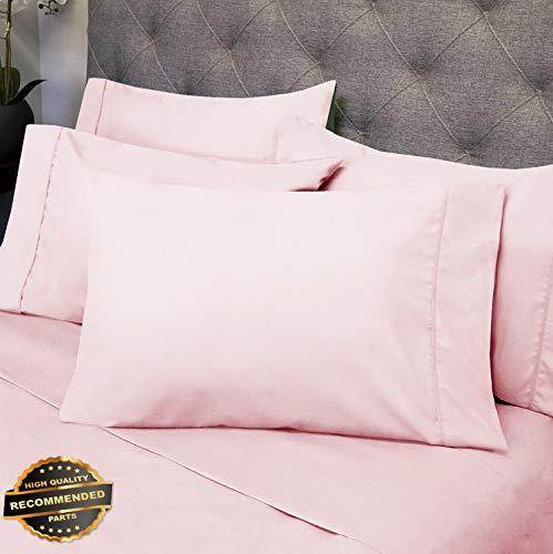 Gatton New Premium Luxury 6 Piece Bed Sheet Set Deep Pocket Egyptian Soft 1500 Thread Count | LINENIENHM-182011986 RV Short Queen ()
