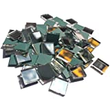 "3/8"" square mirror mosaic tile - 1000 pcs"