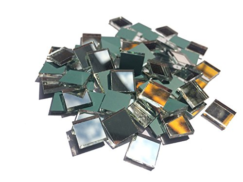 Aleksander Hreben 3/8 square mirror mosaic tile - 200 - Stained Chips Tiles Mosaic Glass