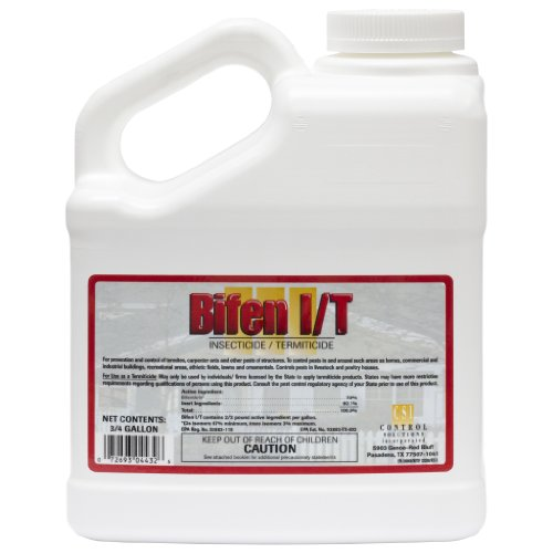 3/4 gal Bifen IT Generic talstar Pro / One 7.9% Bifenthrin Multi Use Pest Control Insecticide.. 96 ounce (Spray Jug)