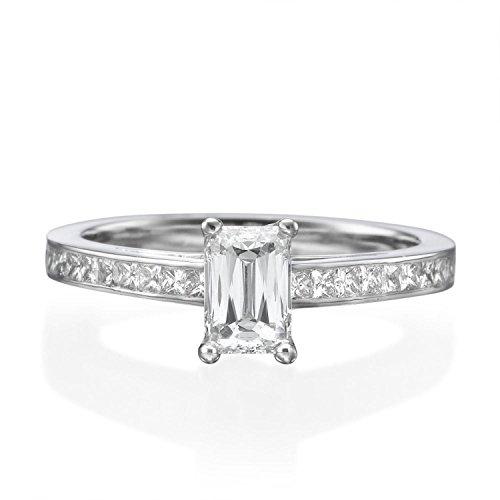 0.47 Ct Princess Diamond - 3