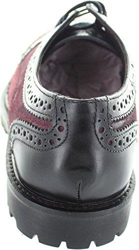 Base London  Conflict, Chaussures de ville à lacets pour homme noir noir - noir - noir,