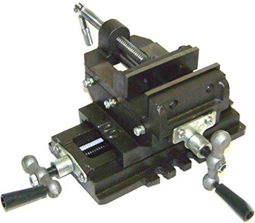 Honesty 3'' Cross Slide Vise Drill Press Heavy Duty Metal Milling 2 Way X-Y Clamp Machine by Honesty