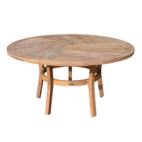 Titan Teak Round Dining Table | 59″