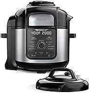 Ninja FD401 Foodi 8-Quart 9-in-1 Deluxe XL Pressure Cooker Air Fry, Crisp, Steam, Slow Cook, Sear, Saute, Bake