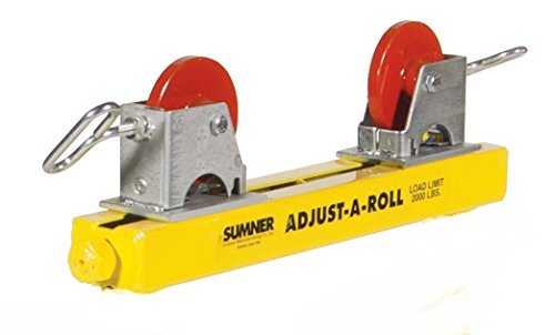 Sumner 780363 ST-504 Table Adjust-A-Roll with Stainless Steel Wheels