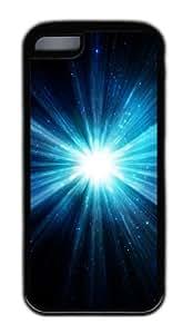 Customized Case Shine 1 TPU Black for Apple iPhone 5C by icecream design