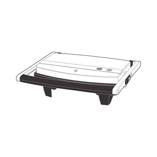 Borosil Jumbo 1000-Watt Grill Sandwich Maker (Black) 2021 August Brand-Borosil, Specification – 230V ~ 50Hz 1000 W Power for Faster Grilling Makes 2 Sandwiches in minutes