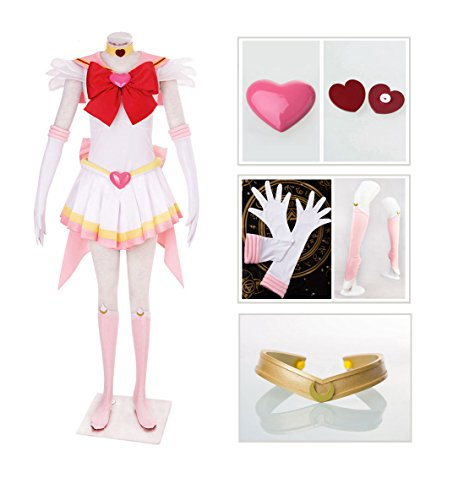 DAZCOS US Size Adult Super S Chibi USA Moon Fighting Cosplay Costume (Women (Chibiusa Costume)