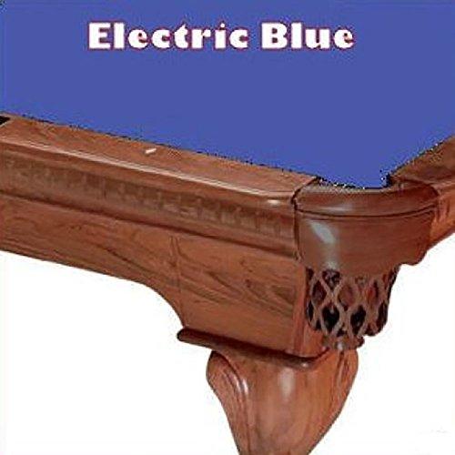 7' Electric Blue ProLine Classic 303 Teflon Billiard Pool Table Cloth (21 Oz Electric Blue Felt)