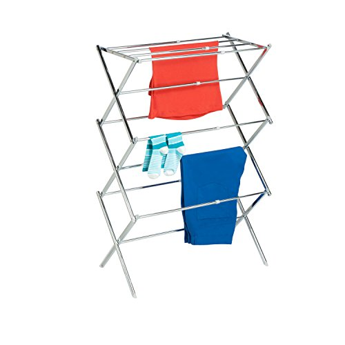Honey-Can-Do DRY-03053 Expandable Drying Rack, Chrome ()