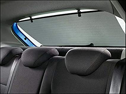 Myshopx Auto Sonnenschutz Heck Rollo Sonnenrollo 100 Cm Heckscheibe Sonnenschutzrollo Auto