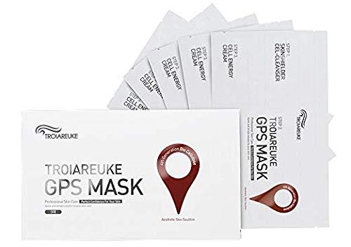 [TROIAREUKE] GPS Mask Skin Care Set (5ea) / Korean Cruelty Free Soothing Skin Care Travel Kit, Cel-Cleanser + GPS Mask + Cell-Energy Cream in 1 Pack