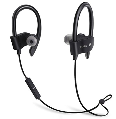 wireless Bluetooth headphones,WiFi 4.1 Earbuds Sports Stereo Headset,IPX7 Waterproof Sweatproof HD Bluetooth Earphones w/MIC, Noise Cancelling In Ear Ear Buds for Running Jogging Iphone Android