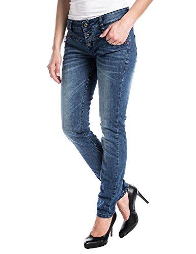 Jeans Mujer Blue New Timezone Rock Azul Wash Kairinatz OHxnF