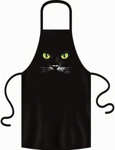 con Sexy Gatos Ojos Gato Delantal para gato amigo One Size Fb ...