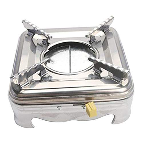 Prettyia 9 Styles Alcohol Stove Rack Cross Stand Outdoor Camping Stove Stand Rack - B 19X6cm