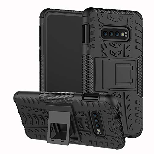 - Galaxy S10E Case,ZERMU Shockproof Protection Ultra Thin Durable Hard Plastic Case with Kickstand Armor Defender High Impact Rugged Bumper Anti-Scratch Case for Samsung Galaxy S10E 5.8