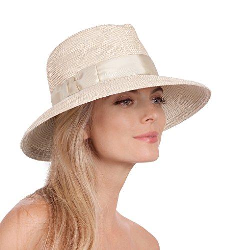 Eric Javits Women's Luxury Headwear Phoenix Hat -Cream