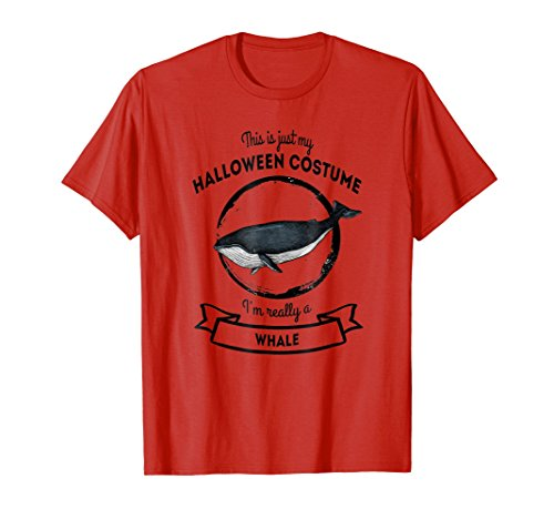 Whale Halloween Costume T-Shirt