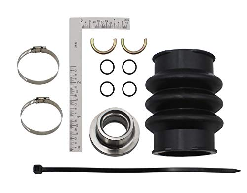 (Seal Drive Line Rebuild Repair Kit & Boot for Sea Doo replace the model#272000042 272000777 272000064 293300032 fit for the GTX DI RX/RX DI 2000-2003 SP1996-1997 SPI 1996 GTI 1996-2005.)