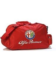 Alfa Romeo Logo Duffle Travel Sport Gym Bag backpack