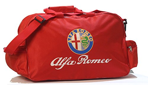 Alfa Romeo Logo Duffle Travel Sport Gym Bag backpack
