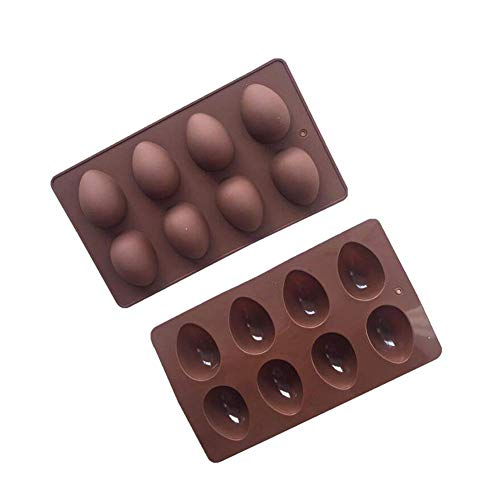 2 Pack Easter Egg Silicone Cake Baking Mold