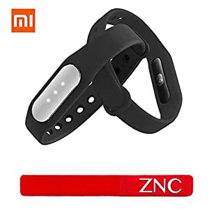 New Xiaomi Fitness Band 1S Mi Band Pulse with Heart Rate Monitor Wearable Tracker Smartband + ZNC® Cable Tie (Free Gift)