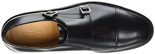 Campanile Mens Monkstrap Nero