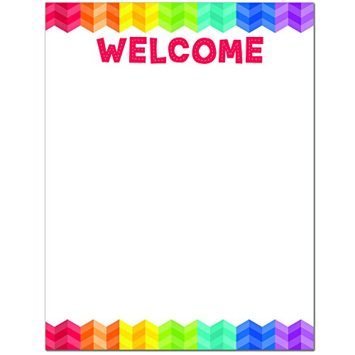 Creative Teaching Press Chart Painted Palette Welcome Chart -