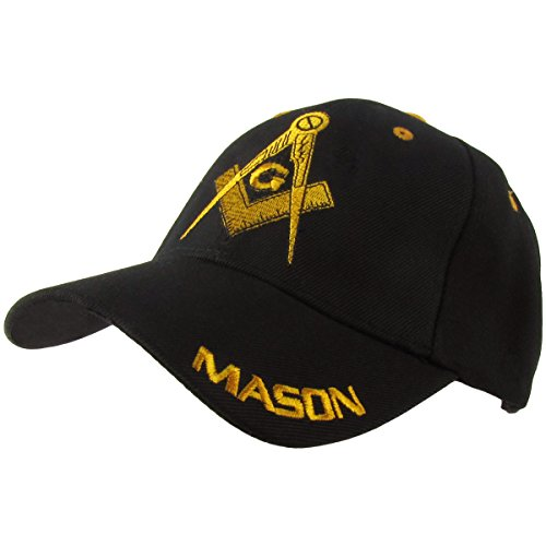 MASON Masonic Ball Cap Adjustable Freemason Golf Baseball Hat Freemasonry  Gift 5b7269e24f0f