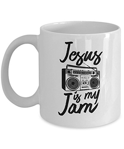 Jesus Is My Jam Funny Christian Gift Coffee Mug