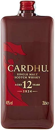 Cardhu 12 Single Malt Whisky Escocés Pocket Edition, 200ml