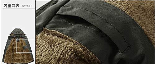 Épaissir Blouson Parka Hommes Chaud Moxishop Coton Taille Manteau Mens A Capuche Padded Fourrure Bleu Grande Pardessus Jacket Hiver Outwear d4Ywq6YxO