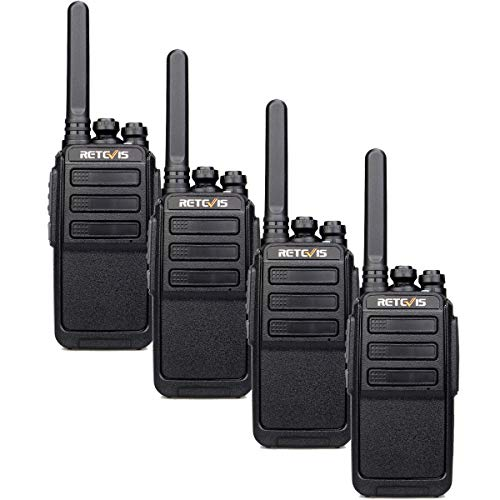 Retevis RT28 Walkie Talkies, PMR446&16CH, Portable Walkie Talkie Rechargeable with USB Cable, Supports VOX Squelch MONI…