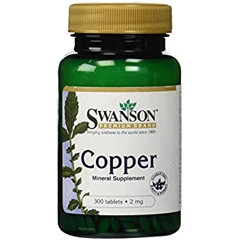 Swanson Copper 2 mg 300 Tabs