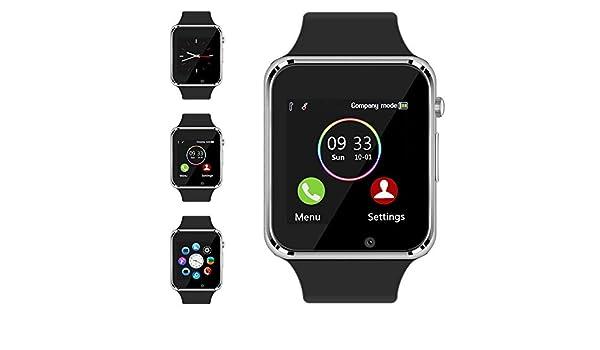 jpantech - Reloj Inteligente Bluetooth con Ranura para Tarjeta SIM ...