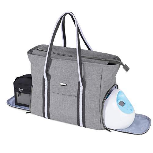 Yarwo Breast Pump Bag with Laptop Sleeve