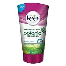 Veet Silk & Fresh, Hair Removal Gel/Cream, Legs & Body, Sensitive Formula, 200 ml
