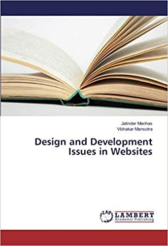 Design And Development Issues In Websites Manhas Jatinder Mansotra Vibhakar 9783659868788 Amazon Com Books