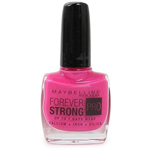 Maybelline Forever Strong Super Stay Nail Polish 7 Day wear 170 Flamingo Pink (7 Day Nail Polish)