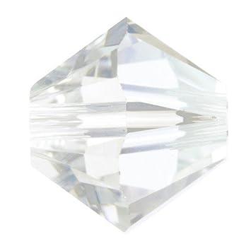c237148b7 4mm Swarovski Crystal Xilion Crystal Moonlight Beads Qty 100: Amazon.co.uk:  Kitchen & Home