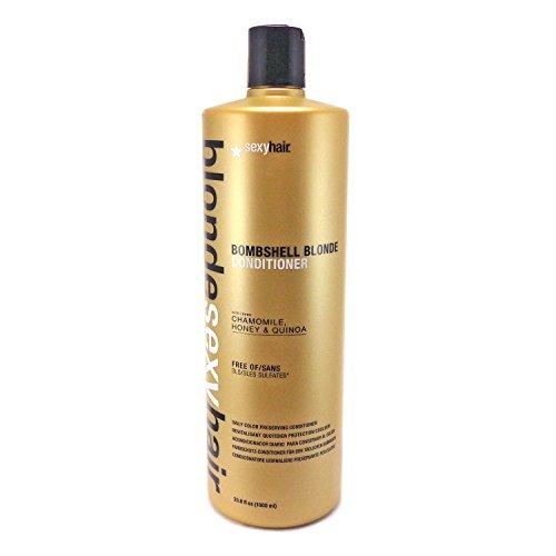 Hair Blonde Bombshell (Sexy Hair Bombshell Blonde Conditioner, 33.8 Fluid Ounce)